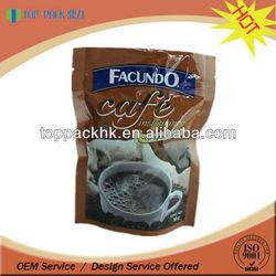 ZOOM mini ziplock bag/mini coffee packaging bags