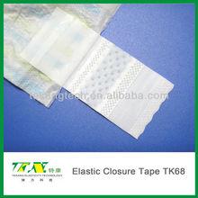 Elastic Side Tape TK68 sleepy baby diaper material