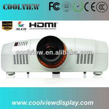 full HD 1920*1200 pixels high brightness 10000 lumens video projector 10000 ansi
