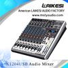 XENYX X1204 Professional 8-channel audio mixer