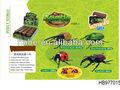 Peinture en aérosol insectes 3d puzzle ensemble, jeu de puzzle éducatif pour les enfants de vente chaud