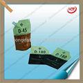 Blindage sac d'emballage en plastique/anti- statique stand up pouch/excellent bec poche