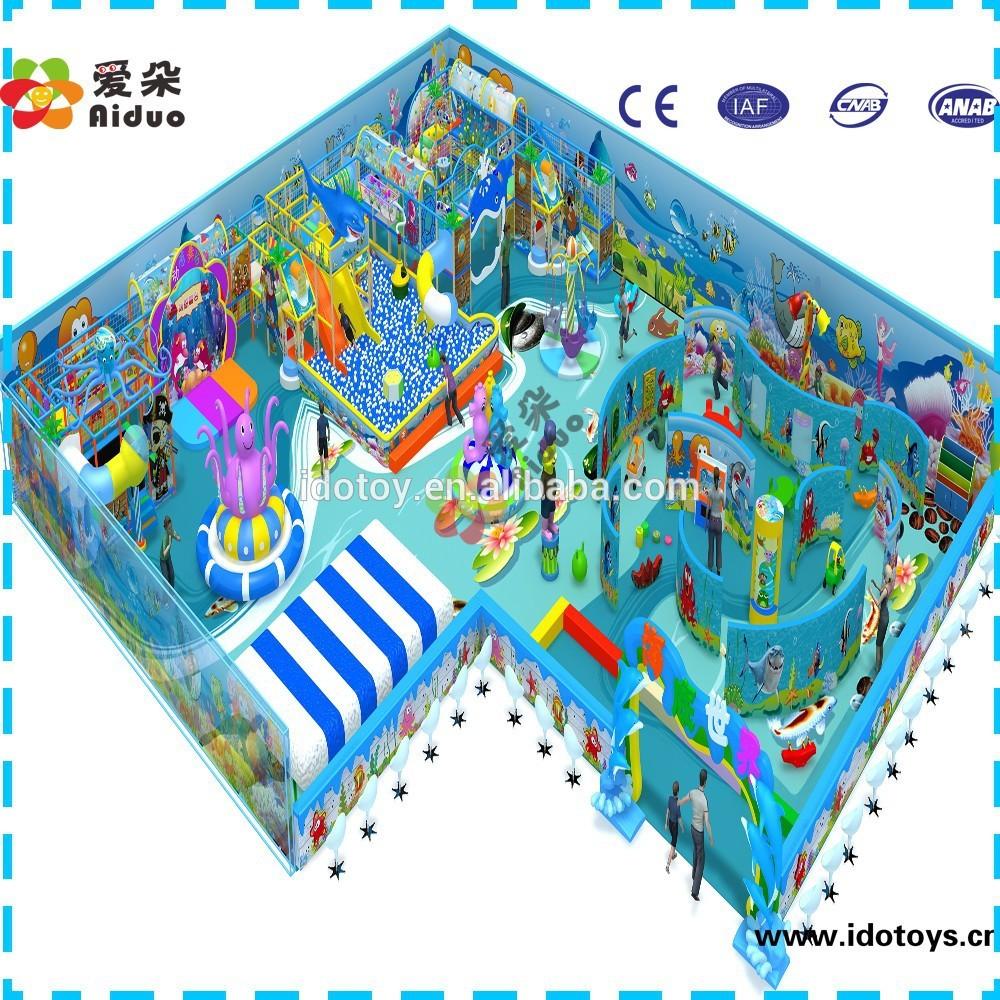 Indoor Playground Blueprints