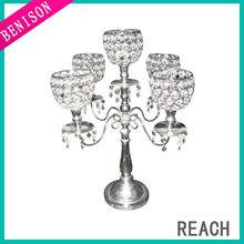 Decorative 5 arms candelabra centerpiece wedding party decor wholesaler like accept small quantity order