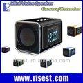 El detective radio reloj cámara oculta en mini altavoz + mp3 + mp4+fm mvs