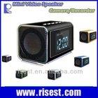 Detective Clock Radio Hidden Camera in Mini Speaker + MP3 + MP4+FM MVS