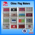Plein air matériel publicitaire drapeaux nationaux