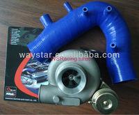 TD06 25G turbocharger for Subaru WRX STI Impreza EJ20 EJ25 2001-2007 with WRX air intake hose silicone