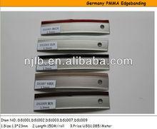 double color acrylic garmin edge banding for modern kitchen cabinet
