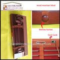uv recubrimiento de listones de madera maciza escalera de cuerda de la cinta volcador 50mm listones de tilo ciegos de madera