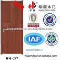 porta de madeira com design moderno e artesanato meticuloso