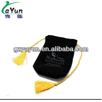elegant mini velvet gift bags,gift packing bag,velvet bag with nylon rope
