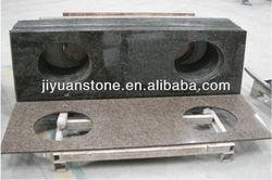 Manufacture Excellent Quality Natural granite costco bathroom vanities