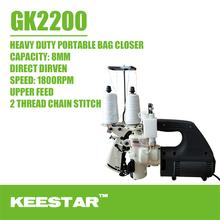 Keestar GK2200 single needle double thread chain stitch handy plastic bag sealer