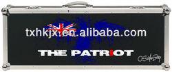 Aluminum Australia Guitar Instrument Trolley Carrying Flight Case