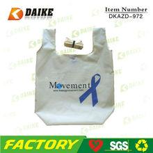 Wholesale Cotton Foldable Recycle Bag DKAZD-972