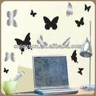 EJP130168 Newest Butterfly vinyl,Mirrors Butterflies Wall Art,Wall Decal
