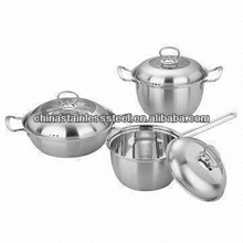 stainless steel cookware 202