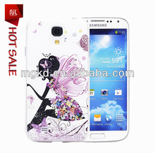 Bling Bling 3D carving cell phone diamond case for samsung galaxy s4