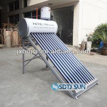 2014 Vacuum tube non pressure solar water heaters