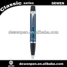 2013 hot selling new style good design Dewen metal souvenir ballpoint pen