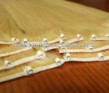 2015 WHOLESALE cheap micro ring weft hair extensions/micro beads weft hair extensions/human hair for micro braids