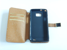 Brown PU Leather Case for Samsung Galaxy S2 i9100