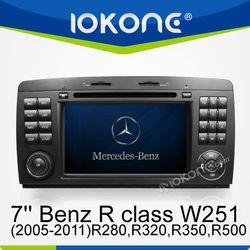 car dvd player/gps for Mercedes-Benz R class W251(2005-2011)R280,R320,R350,R500