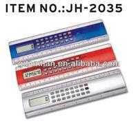 JH5035 desktop 8 digital electronic tape measure with calculator