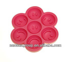 New Brand Hot Selling Silicone Smile Face Ice Cube Tray