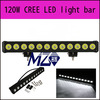 Sigle row of led light bar 120w,cree chips each one 10w,color temperature 6000k,offroad car,Jeep,4WD,UTV,SUV