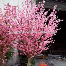 artificial plants peach blossom flower