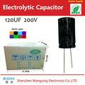 Popular 120uf 200v capacitores eletrolíticos de alumínio do produto com oem/odm