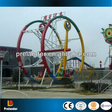 Theme park attractions !! 3D space travel ride electric ferris rings ride for sale !!