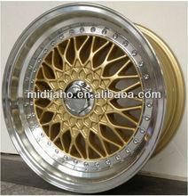 Gold BBS Rim/Replica BBS wheel rim/BBS wheel rim