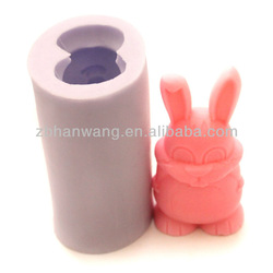soap molds rabbit Easter silicone mold soap rabbit soap silicone R0454
