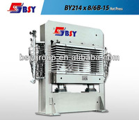 Hydraulic hot press machine / Plywood hot press 400~600t
