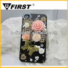 Rhinestone phone case,3d bling case for iphone 5,luxury bling diamond crystal star hard case