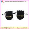 Wholesale Customized Gold stamping logo gift velvet bags