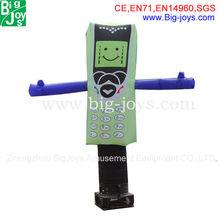 Cheap inflatable air dancer/small air dancers for sale/inflatable cellphone air dancers inflatable wind man