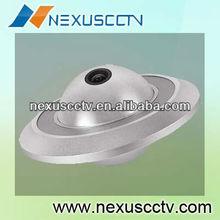 new factory 1/3 sony super ccd ii mini 550tvl UFO dome camera with OSD (NE-808H)