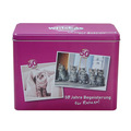 Custom rectangulaire, pet food boîte en fer blanc pour chat./aliments pour chiens---- 202*102*h. 150mm