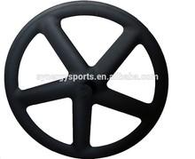 high performance 700C carbon (five)5 spoke wheel(Tubular)/clincher 12K/3K