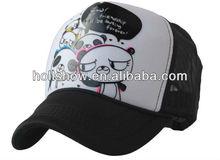 2013 Summer New Style Panda Trucker Mesh Cap