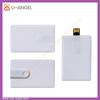 Simple credit card flash drive