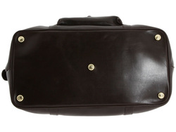 luxury 100% genuine leather weekend bag/travel bag