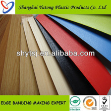 PVC Edge Banding Flexible Plastic Strips For kitchen cabinet door
