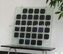High efficiency Small watt Transparent Solar Panel,BIPV