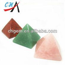 2 inches Hight Quality Barmuda Triangle Quartz Crystal Pic for Vastu