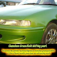 GREEN-GOLD pearl pigment powder Auto paint Nail art